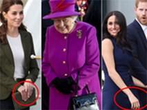 Chỉ cần nhìn vào tư thế bàn tay của Kate và Meghan đã thấy rõ tính cách khác biệt khó có thể dung hòa