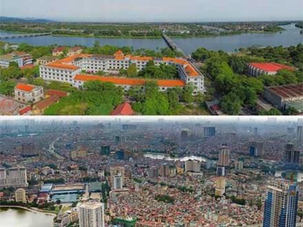 Ngắm ảnh độ phân giải tỷ pixel chụp tại Hà Nội, Huế, Đà Nẵng