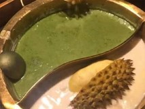 Kinh hãi lẩu bò nhúng trà xanh, sầu riêng, trân châu ai đủ can đảm mới dám thử