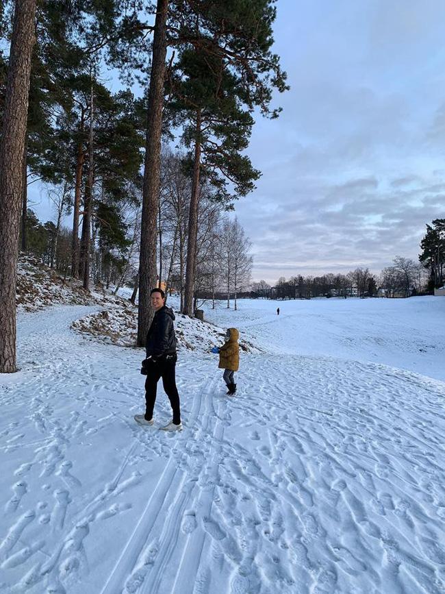 Đại gia đình nhà Hồ Ngọc Hà đã diện kiến họ nhà trai Kim Lý tại Thụy Điển-2
