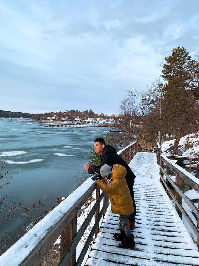 Đại gia đình nhà Hồ Ngọc Hà đã diện kiến họ nhà trai Kim Lý tại Thụy Điển-3