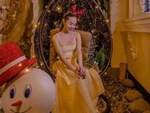 Tiết kiệm như Minh Hằng: Diện váy đi biển để mừng Giáng sinh nhưng vẫn đẹp lung linh