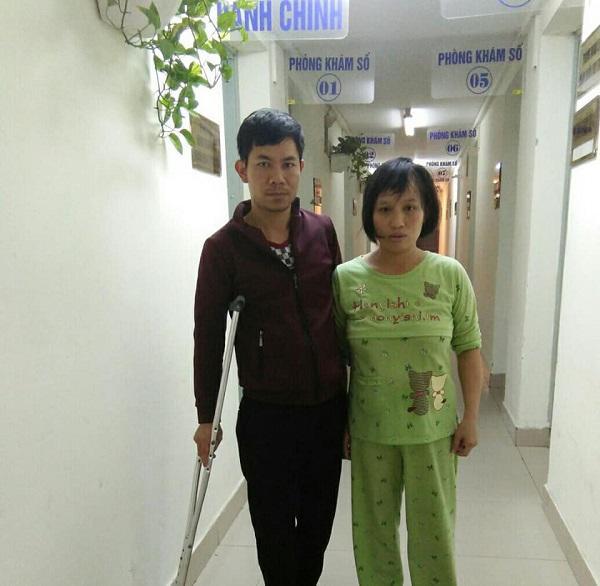 Sau tiếng thở mạnh, con trai phải cấp cứu, chồng tật nguyền hằng ngày dìu vợ đi tiếp sữa-6