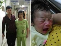 Sau tiếng thở mạnh, con trai phải cấp cứu, chồng tật nguyền hằng ngày dìu vợ đi tiếp sữa