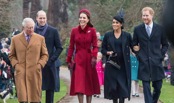 Kate và em dâu Meghan mặt đối mặt dự lễ Giáng Sinh và đây là cách họ trả lời cho tin đồn mâu thuẫn-1