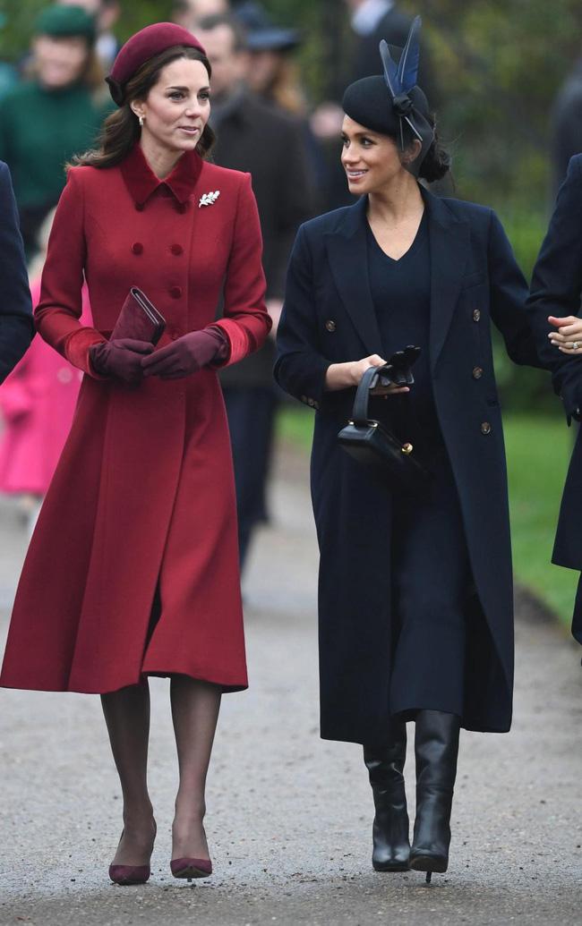 Kate và em dâu Meghan mặt đối mặt dự lễ Giáng Sinh và đây là cách họ trả lời cho tin đồn mâu thuẫn-3