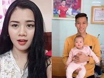 Hoa khôi ĐH Vinh sinh con cho Quế Ngọc Hải, tiết lộ: Giờ bỉm sữa
