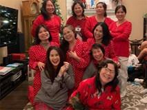 Thân Thúy Hà tung tiếp loạt ảnh bầu đón Giáng sinh bên Mỹ, danh tính bố em bé vẫn biệt tăm