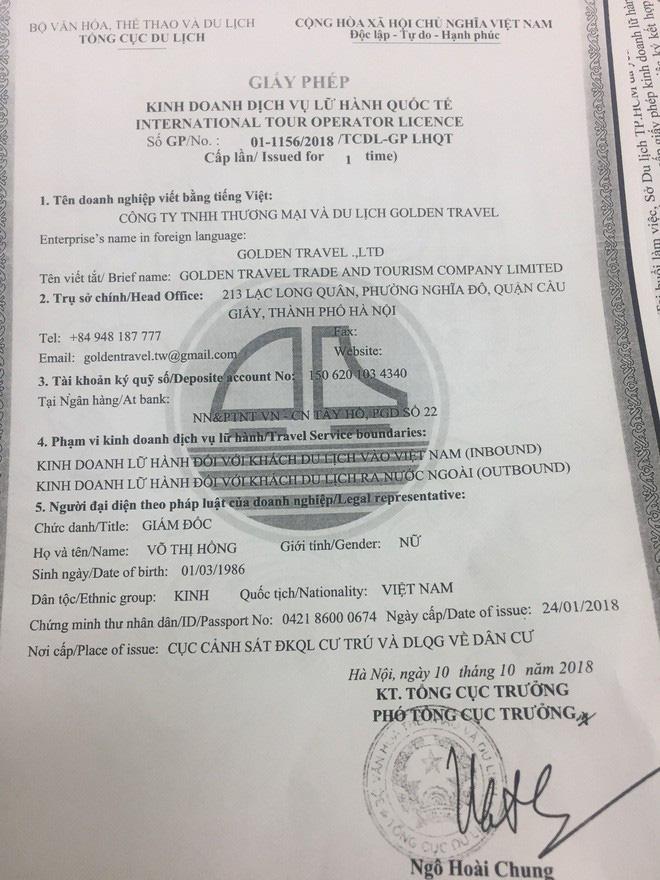 Được cho đã dẫn 1 đoàn trong số 152 khách tham quan Đài Loan rồi mất tích, công ty du lịch lên tiếng: Chúng tôi không liên quan!-1