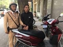 Ăn trộm đúng chiếc xe có gắn định vị, tên trộm chạy từ Nam Định lên Hà Nội vẫn không thoát