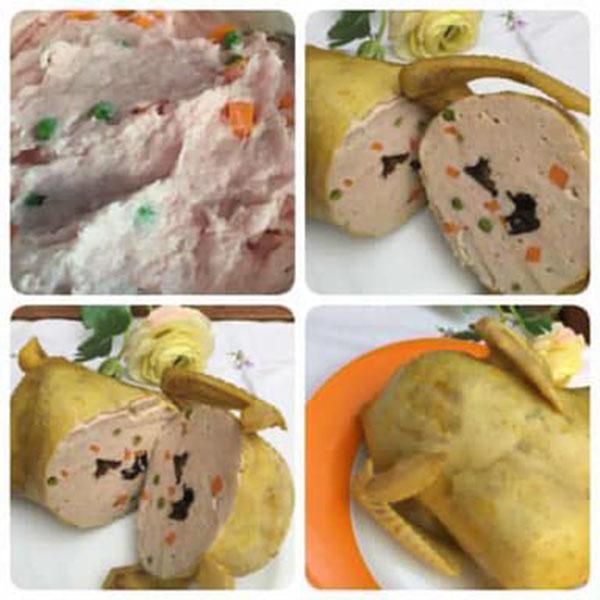 Mẹ Việt ở Đức chia sẻ món giò gà mà ai nhìn vào cũng phải bật cười-3