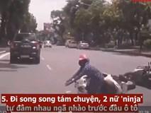 Video: Loạt tình huống giao thông bi hài của các nữ 'ninja' đường phố 2018