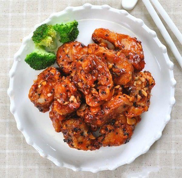 Học người Hàn làm món cá chiên xốt mặn ngọt ngon cơm hết ý-6