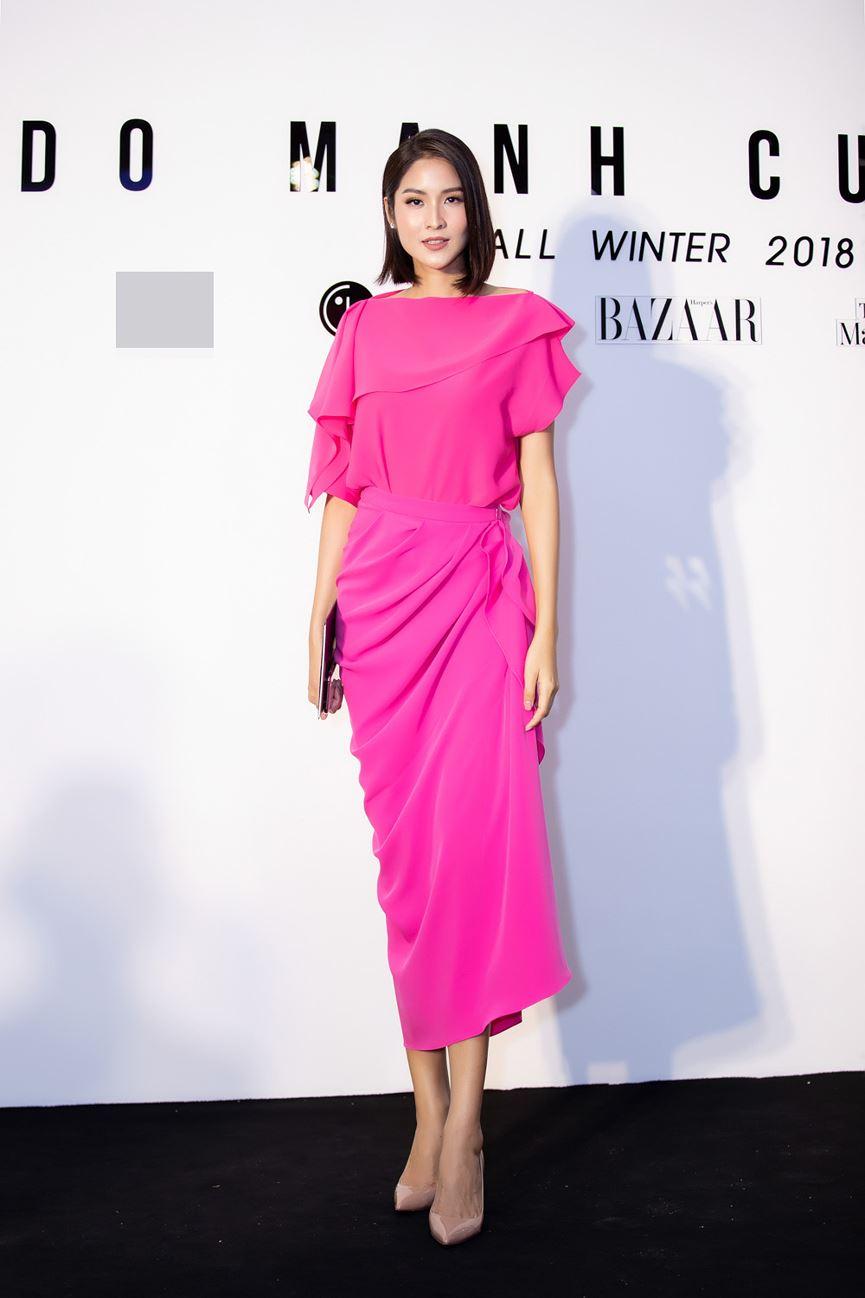 Hoa hậu Thu Thảo tái xuất sau sinh con, vẫn đẹp tựa thần tiên tỷ tỷ-10