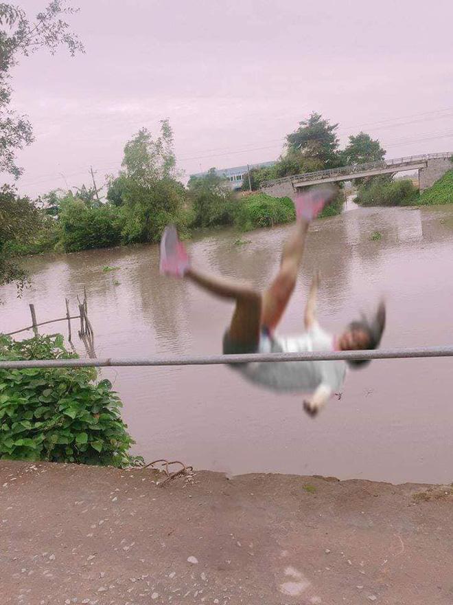 Cô gái ngã lộn cổ xuống sông sau phút giây miệt mài tạo dáng chụp ảnh-2