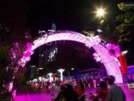 Chùm ảnh: Đường phố trung tâm Sài Gòn được trang trí ánh sáng lung linh để chào đón năm mới 2019