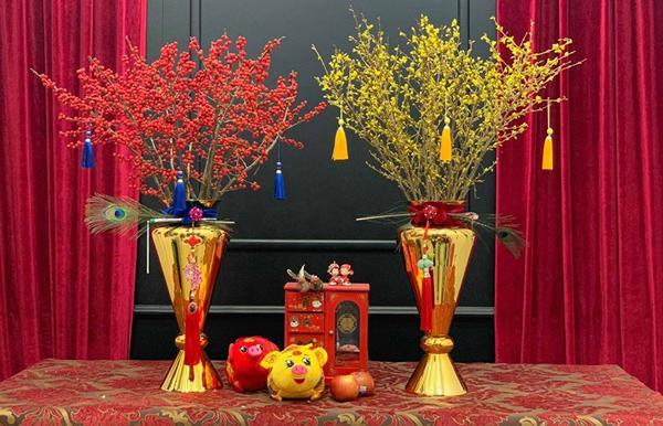 Kỳ lạ hoa đào đỏ au bán gần triệu đồng một cành dịp Tết Dương lịch-4