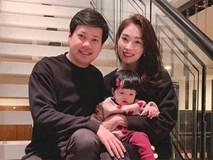 Đặng Thu Thảo khoe ảnh hạnh phúc cùng chồng và con gái cưng để chào đón năm mới