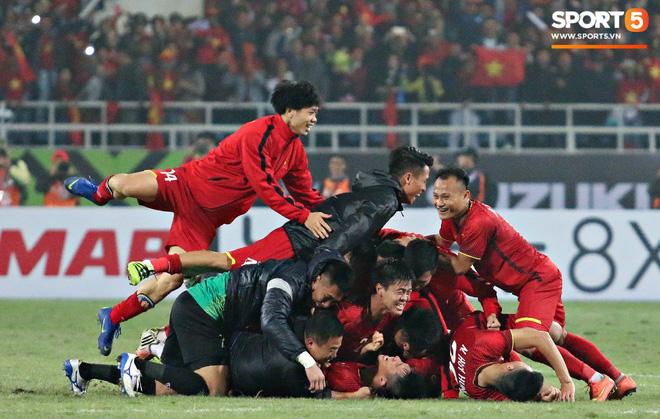 Hành trình kỳ diệu của bóng đá Việt Nam trong năm 2018 qua ảnh-21