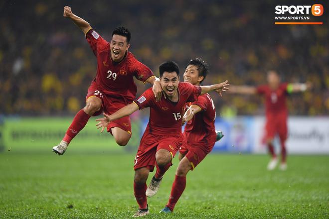 Hành trình kỳ diệu của bóng đá Việt Nam trong năm 2018 qua ảnh-17
