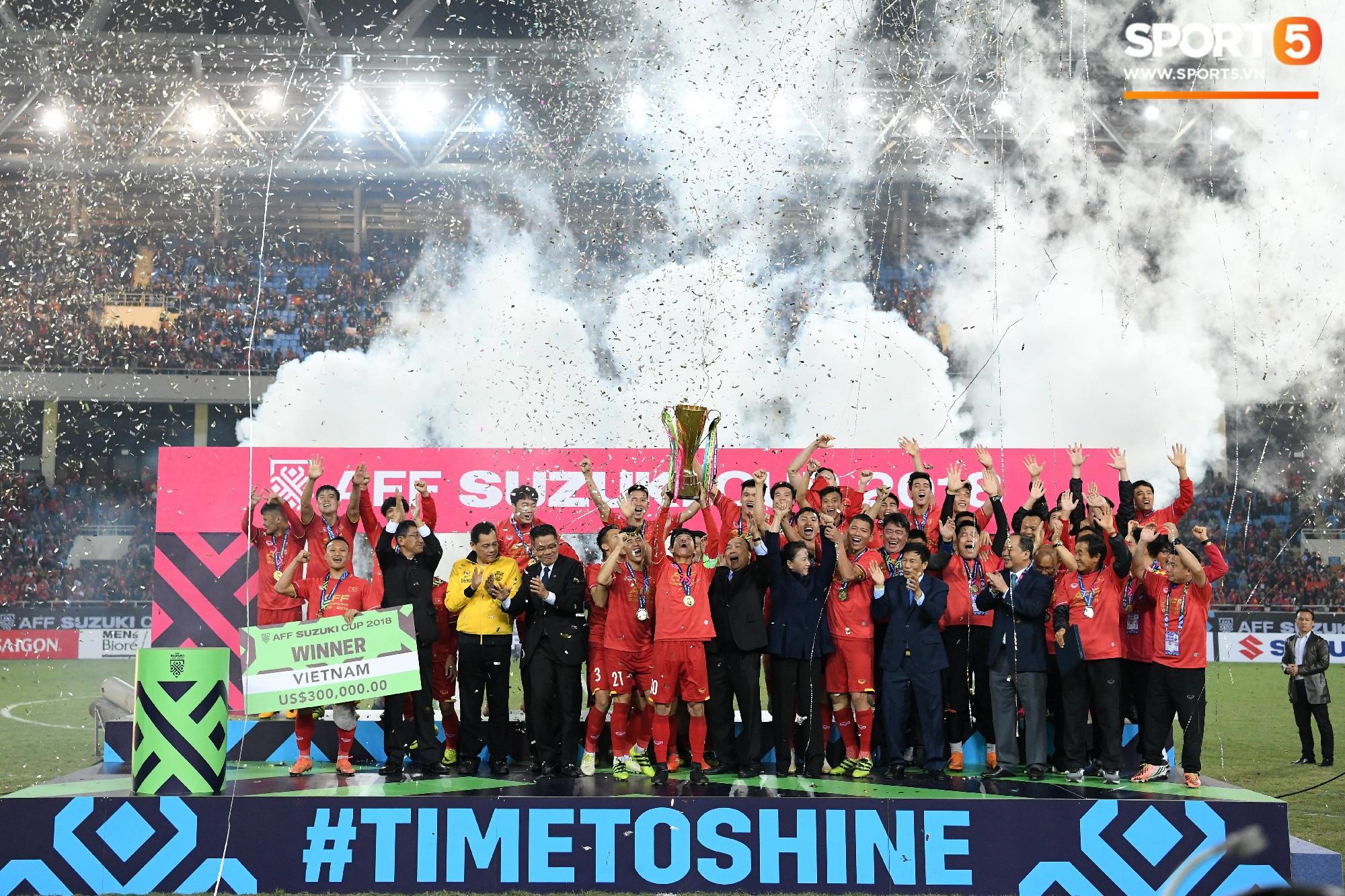 Hành trình kỳ diệu của bóng đá Việt Nam trong năm 2018 qua ảnh-30