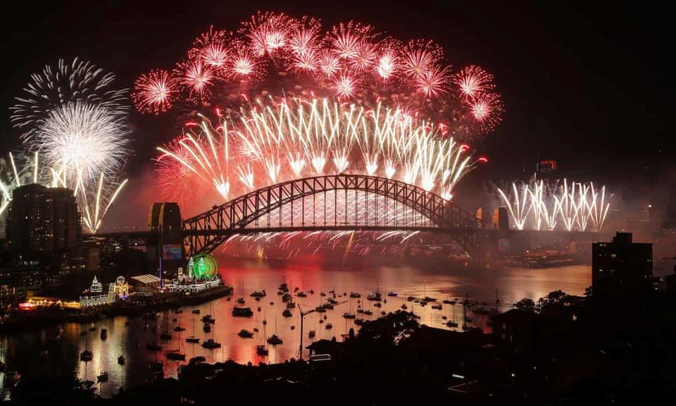 Đại tiệc pháo hoa trên bầu trời châu Á chào đón năm mới 2019-3