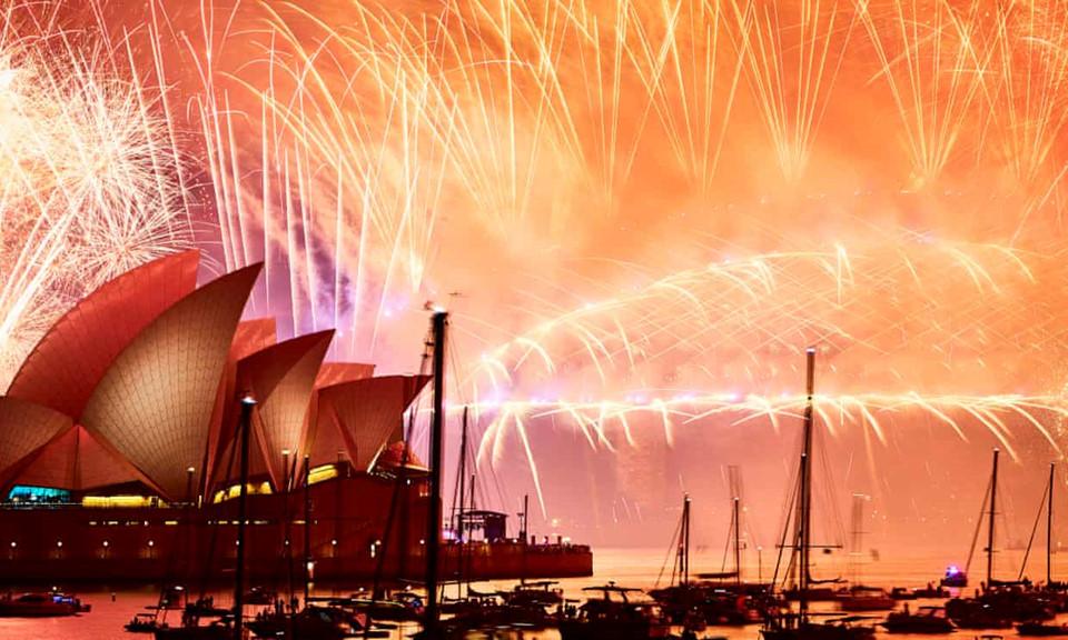 Đại tiệc pháo hoa trên bầu trời châu Á chào đón năm mới 2019-4