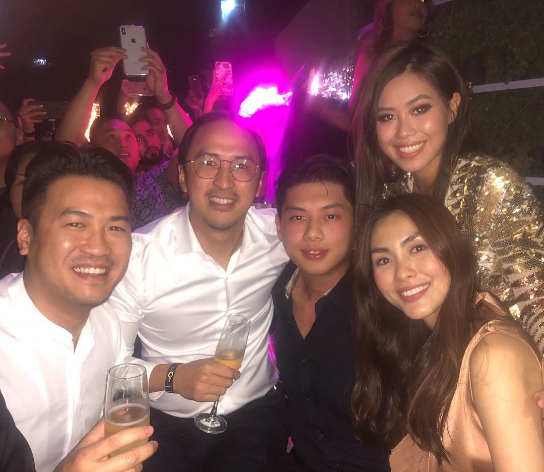 Tiệc chào năm mới của Rich Việt: Dẫn đầu về độ sang chảnh vẫn là hội em chồng Hà Tăng!-1