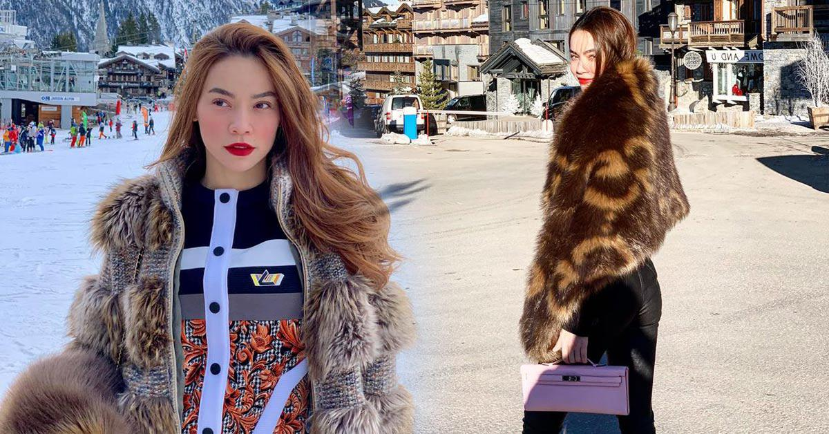Ngắm BST áo lông xa hoa của Hồ Ngọc Hà, chiếc rẻ nhất có giá 90 triệu đồng-1