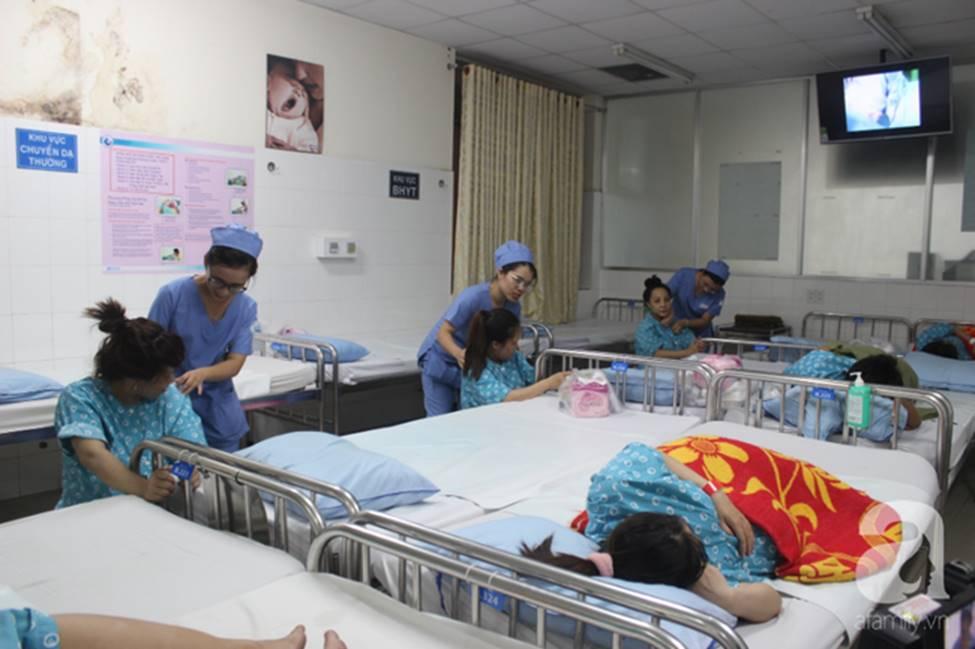 Vừa chào đời giờ đầu tiên của năm 2019, em bé heo vàng ở Cần Thơ đã vẫy tay chào bác sĩ-2