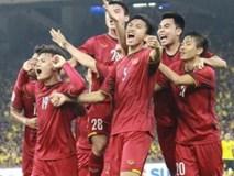 Thắng đậm trước Philippines, tuyển Việt Nam viết đoạn kết hoàn hảo cho năm 2018
