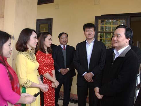 Bộ trưởng Phùng Xuân Nhạ: 2019 là năm giảm áp lực cho giáo viên-1