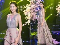 Hoa hậu Tiểu Vy khoe vẻ đẹp mong manh, hát mừng năm mới