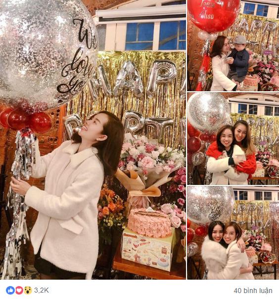 Ly Kute đăng ảnh xinh tươi rạng rỡ trong sinh nhật mình nhưng bé Khoai Tây mới chiếm spotlight chú ý-1