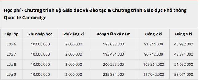 Choáng với học phí hàng trăm triệu mỗi năm của các trường Quốc tế mà con cái sao Việt theo học-3