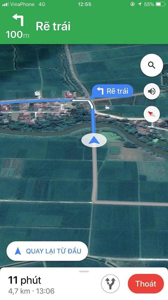 Tin tưởng vào Google Maps, người đàn ông suýt rơi xuống mương trong ngày đầu năm-1