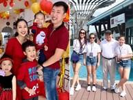 Những bức ảnh đoàn viên ấm áp của gia đình nhà sao Việt đầu năm 2019