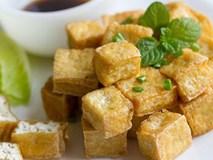 Cách rán đậu phụ vàng giòn bên ngoài chín ngọt bên trong không bị sát chảo và không ngấy mỡ