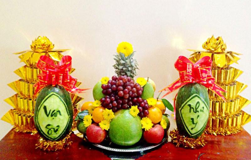 Năm mới bình an, cầu tiền được tiền, cầu tự có con nhờ đặt những loại quả này lên bàn thờ-1
