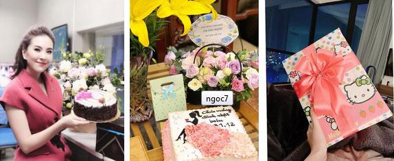 MC Mai Ngọc đón sinh nhật tuổi 28 đầy ý nghĩa, ngập trong quà và hoa, cũng là ngày chia tay bản tin thời tiết-2