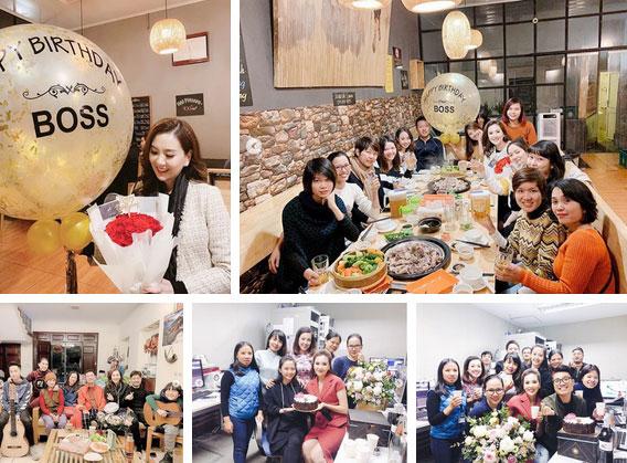 MC Mai Ngọc đón sinh nhật tuổi 28 đầy ý nghĩa, ngập trong quà và hoa, cũng là ngày chia tay bản tin thời tiết-4