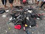 Xác định danh tính tài xế container tông hàng chục xe máy dừng đèn đỏ khiến nhiều người thương vong ở Long An-2