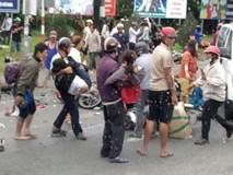 Xác định danh tính tài xế container tông hàng chục xe máy dừng đèn đỏ khiến nhiều người thương vong ở Long An