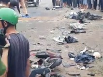 Nhân chứng kể lại vụ tai nạn giao thông kinh hoàng ở Long An
