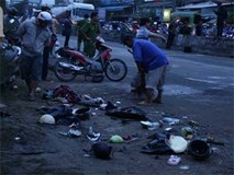 Tài xế container đi ăn tân gia, nghi có sử dụng rượu bia trước khi gây tai nạn khiến hơn 20 người thương vong