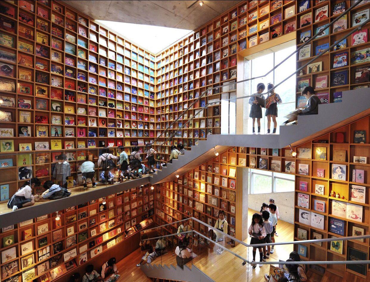 Tin được không, toà thư viện độc đáo lọt top 25 xịn nhất thế giới này thực chất là thư viện cho trường mầm non-1