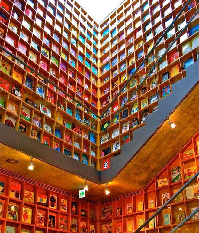 Tin được không, toà thư viện độc đáo lọt top 25 xịn nhất thế giới này thực chất là thư viện cho trường mầm non-3