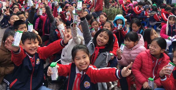 Chính thức triển khai chương trình Sữa học đường tại Hà Nội-5