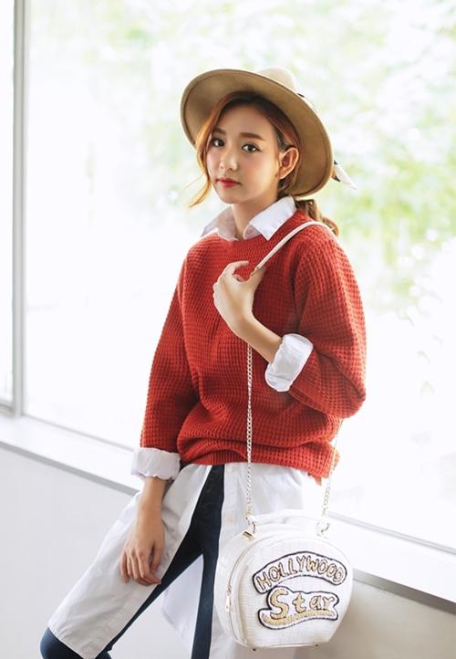 5 kiểu mặc layer với áo len để nàng công sở vừa ấm vừa xinh-3