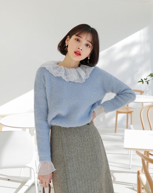 5 kiểu mặc layer với áo len để nàng công sở vừa ấm vừa xinh-4